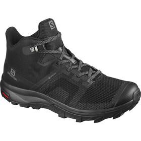 Salomon OUTline PRISM Mid GTX Shoes Women, black/quiet shade/quarry